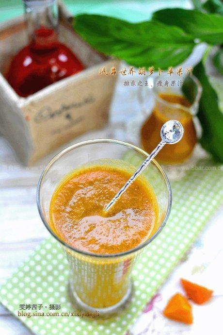 風靡世界胡蘿卜蘋果汁
