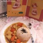 咖喱鸡饭(荤素搭配菜谱)