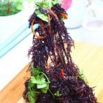 凉拌紫晶藻(夏日凉拌菜谱)