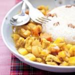 川腊咖喱鸡饭(荤素搭配菜谱)