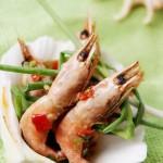 剁椒北极虾(清蒸海鲜菜谱)