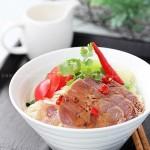 椒麻牛腱涼面(五星級特色涼面菜譜)