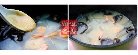 冬瓜鮮蝦味噌湯