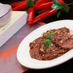 凉拌冰碴辣牛肉(凉菜菜谱)