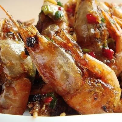 蒜香椒盐北极虾