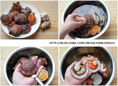蒜香烤扇贝