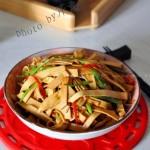 香辣豆腐皮(5分钟菜谱)