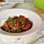 红酒焖牛肉(荤菜菜谱)