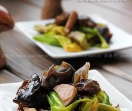 小炒木耳黄花菜