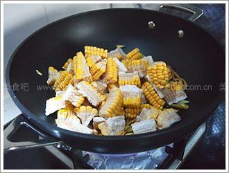 香辣水煮玉米