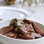 麻油拌卤猪肝(凉菜菜谱)