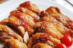 盐焗蜜汁烤鸡腿