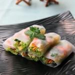 越南春卷(自制东南亚风情特色美食菜谱)
