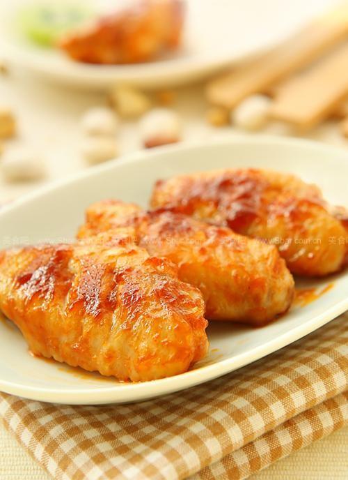 開胃茄汁煎雞翅
