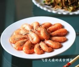 微波炉盐水虾
