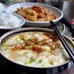 虾仁蒸汽水肉(无油烟蒸菜菜谱)
