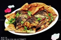 鱼头肥肉泡大饼
