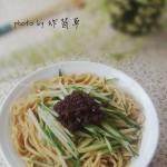 花生酱拌面(早餐菜谱)