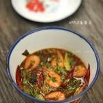 酸菜虾(海鲜菜谱)