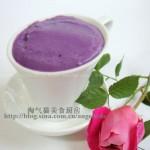 紫薯奶糊(宝宝辅食菜谱)