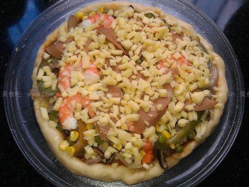 微波炉做披萨pizza