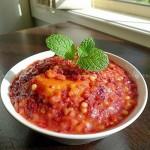 红曲米红薯粥(更加适合女性的健康粥品菜谱)