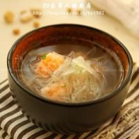 蘿卜絲蝦丸湯
