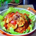 韩式大酱炒杂蔬(素菜菜谱)