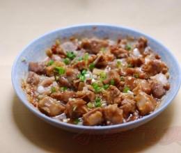 黄豆酱蒸排骨