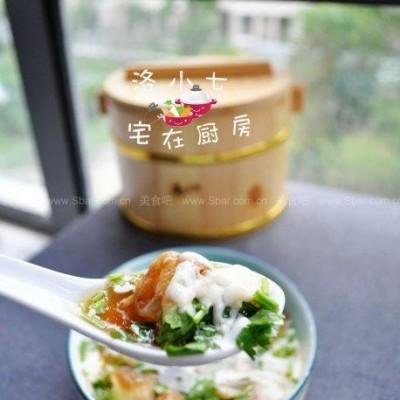 自制鸡汤油条豆腐脑