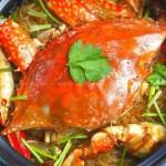 海蟹粉絲煲(海鮮菜譜)