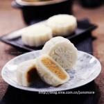 奶香凤梨馅冰皮月饼(中秋菜谱)