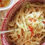 蒜辣橄榄油意面(西餐菜谱)