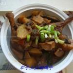 茄子土豆焖鸭子(荤素搭配菜谱)