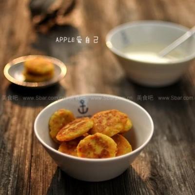 金黄蔬菜豆渣饼