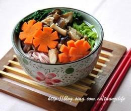 卤味蘑菇蔬菜面