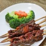 烤牛肉串(烤箱菜谱)