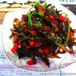 烟笋炒腊肉(湖南的地方特色菜谱)
