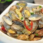 爆炒文蛤(海鲜菜谱)