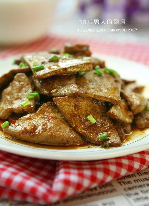 鱼香猪肝片