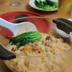 微波炉泡菜三丁焖饭(三伏天不开火的懒人饭菜一锅端菜谱)