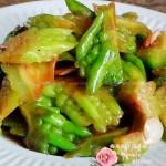 腐汁苦瓜(素菜菜谱)