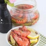 柠香泡椒虾(休闲零食菜谱)