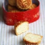 椰蓉月饼(中秋菜谱)