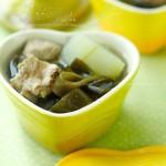 海帶冬瓜排骨湯(營養又瘦身的菜譜)