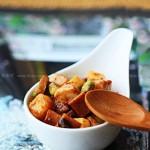 豆瓣酱丁(荤素搭配菜谱)