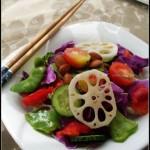 时蔬沙拉(秋季做款防秋燥润肺止咳的凉拌菜谱)