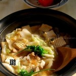 鲍汁白菜豆腐煲(素菜菜谱)