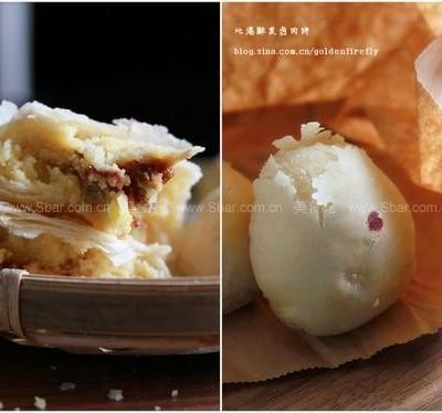 南台湾古早味北港卤肉月饼