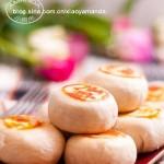 桂花黑芝麻酥皮月饼(中秋菜谱)
